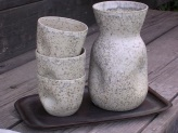 brocca e tazze granit